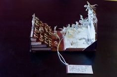 Cinema book sculpture