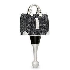 Runway Handbag Bottle Stopper