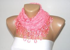 New bridal wedding lace scarf with lace fabric by scarvesCHIC, $15.90