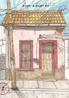Dibujos de tres casas en ascii arte ascii pinterest for Fachadas de casas pintadas