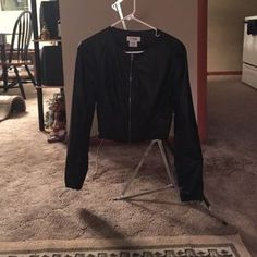 I just discovered this while shopping on Poshmark: Charlotte Russe faux leather jacket.. Check it out!  Size: M