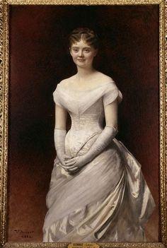 Mademoiselle de Nouille  Author :  Bonnat Léon Joseph Florentin (1833-1922)  Photo Credit :  (C) RMN-GP / Agence Bulloz  Period :  19th century, période contemporaine de 1789 à 1914  Date :  1884