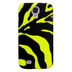 yellow galaxy s4 cases