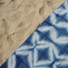 Shiboristas en la playa *** Shibori lovers on the beach #ShiboristasEnLaPlaya *** #ShiboriLoversInTheBeach