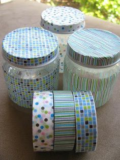 Mummy Adventures: A Month of Love - Day 1 - Washi Tape