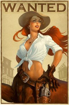 Centaur cowgirl. Very cool! From the for Redheads tumblr