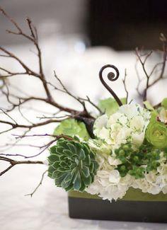 succulents centerpiece | succulent centerpieces | AK Studio