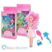 Pop met gekleurd haar en accessoires -  Koppen.com