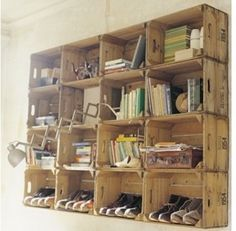 37 Vintage Craft Crate Ideas – Fun And Creative Things To Do With Old Crates - 3