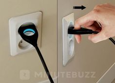 Une prise électrique facile à retirer