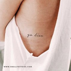 Go Live Temporary Tattoo (Set of 3) – Small Tattoos Back Tattoos, Mini Tattoos, Small Tattoos, Meaningful Tattoo Quotes, Tattoo Quotes About Strength, Pretty Tattoos, Unique Tattoos, Go Live Tattoo, Crown Tattoos For Women