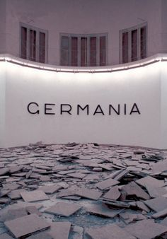 """""""Germania"""": Hans Haacke and Irving Sandler in Conversation :: New Museum"""