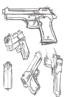 drawing a gun