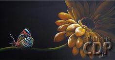 le-temps-dune-pause-helene-bisson Ecole Art, Close Image, Images, Butterfly, Diane, Painting, Arrow Keys, Tech, Painting Classes