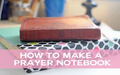 forgetting all those prayer requests! I had a prayer notebook in college. How to Make a Prayer Notebook.I had a prayer notebook in college. How to Make a Prayer Notebook. Prayer Closet, Prayer Room, My Prayer, Nike Run, Bible Prayers, Prayer Board, Prayer Warrior, Spiritual Life, Prayer Request