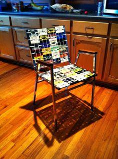 Cassette Tape Chair