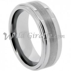 Wholesale Tungsten Ring, Style RTG9508