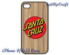 Santa Cruz Hand Old School Skateboard iPhone 4/4s by SuitUpCraft, $14.99
