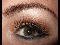 False flares/individual lashes application tutorial