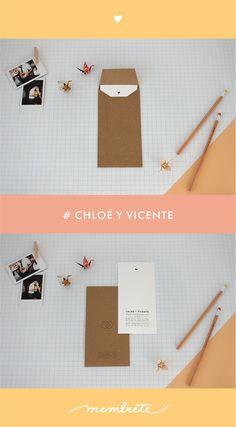 Chloé & Vicente ♥ Membrete | Invitaciones en papel | www.membrete.com.uy