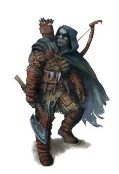 Hobgoblin Ranger - Ironfang Invasion - Pathfinder PFRPG DND D&D d20 fantasy