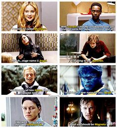 X-Men: First Class One of my favourite movies and an amazing cast