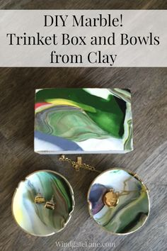 Marble Bowls Made From Clay - Windgate Lane