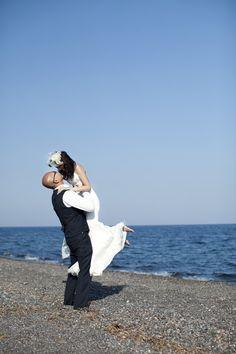 Santorini Bride and Groom