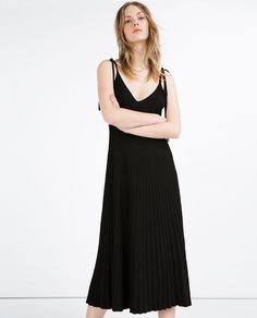 Image 3 of PLEATED EFFECT DRESS from Zara