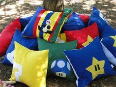 Mario Bros pillows