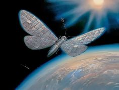 Farfalle eterne: Le farfalle di Vladimir Kush- satellite alato
