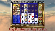 4 Hand Tens or Better Video Poker @ Miami Club Casino