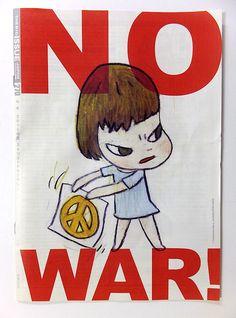 ホームレスの支援も兼ねた出版物「ビッグイシュー日本版」を買った。表紙と裏表紙は奈良美智さん(本文にも4ページのインタビュー記事あり)。SEALDsやT-nsSOWLなどの活動内容の紹介もあり、タイムリーな特集だった。