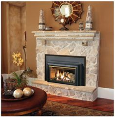 Fireplace Natural Gas Propane Wood Mantels Fireplaces