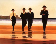 The Billy Boys - Jack Vettriano