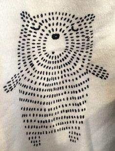 Druck & Muster - Stricken ist so einfach wie 3 Das Stricken läuft auf dre. Druck & Muster - Knitting is as easy as 3 Knitting boils down to three essential skills. Sashiko Embroidery, Japanese Embroidery, Embroidery Art, Cross Stitch Embroidery, Embroidery Patterns, Print Patterns, Pattern Print, Simple Embroidery, Machine Embroidery
