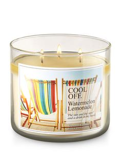 Cool Off - Watermelon Lemonade 3-Wick Candle - Bath And Body Works