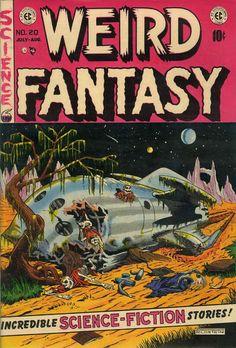 Cover for Weird Fantasy (1951 series) #20
