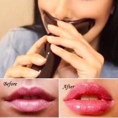 Natural Sexy Lip Pump/Plumper Enhancer Enlarger Plastic Fuller Bigger Thicker Poutier Lips Makeup Beauty Tools
