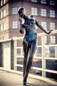 sexylatexmodels: girls in sexy latex fashion  Super glossy shiny photo from Belinda Bartzner - Photography   Wearing my fully closed hood, Fantastic Rubber catsuit,Pandora Deluxe Latex body and my Fabulously Fetish shoes https://www.etsy.com/listing/183119418/a4-high-quality-print-of-psylocke Model: www.Psylocke.se // Psylocke