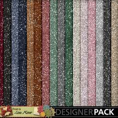 Flaky Friends Digital Scrapbook Glitter papers, digital glitter paper, glitter, pink, blue, winter glitter