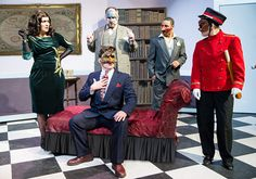 Faction of Fools' The Great Commedia Hotel Murder Mystery, Reviewed C. STANLEY PHOTOGRAPHY