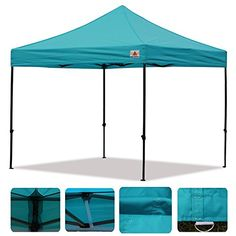 Abccanopy KingkongModel 10 x 10 Instant Canopy Kit Ez Pop up Tent TURQUOISE >>> See this great product.