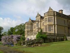 Stokesay Court :: Historic Houses Association :: The basis for Thornholm.  Beautiful in the Spring.