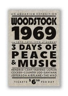 A collection of woodstock art, woodstock concert ticket art, woodstock concert ticket, a woodstock movie poster art, as well as other music art and music posters. Woodstock Poster, Woodstock Concert, Woodstock Ny, Movie Poster Art, Poster Poster, Rock N Roll, Diy Wood Box, Vintage Concert Posters, 50th Party