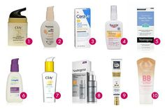 The Ten Best Drugstore Face Moisturizers With SPF: Applying a hydrating, soothing moisturizer on a daily basis is an essential part of your morning routine. For one, our skin gets thirsty and requires regular hydration, just like you do. The other part of the equation is sun protection – you should be protecting your skin from harmful UV/UB rays all year long, but during the summer is particularly important. #rankandstyle