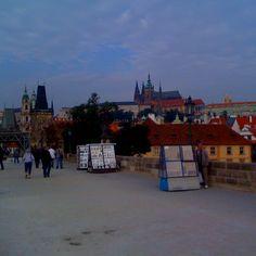 Prague castle, Charles Bridge #Prague