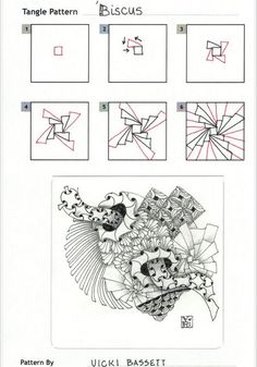 the best tangle patterns - Google Search