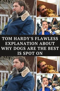 Let's just state the obvious right now: Tom Hardy is awesome. He's a great actor, I mean have you seen Mad Max?