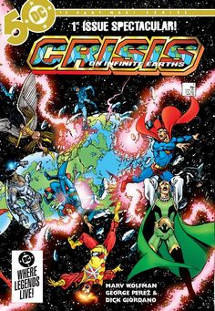 Crisis on Infinite Earths #1 - 12 Free Download – GetComics